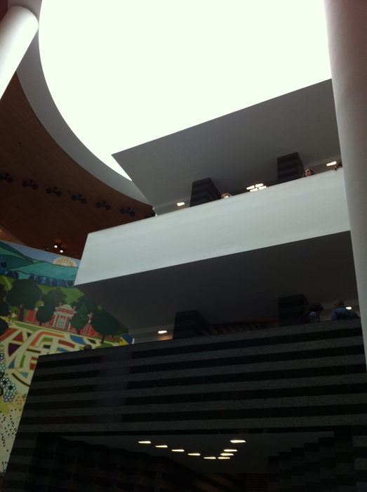 SF MOMA, interior