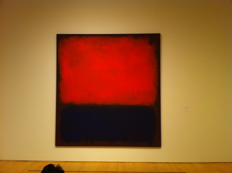 SF MOMA, Rothko, painting, art