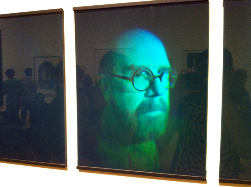 SF MOMA, art, portrait, Chuck Close