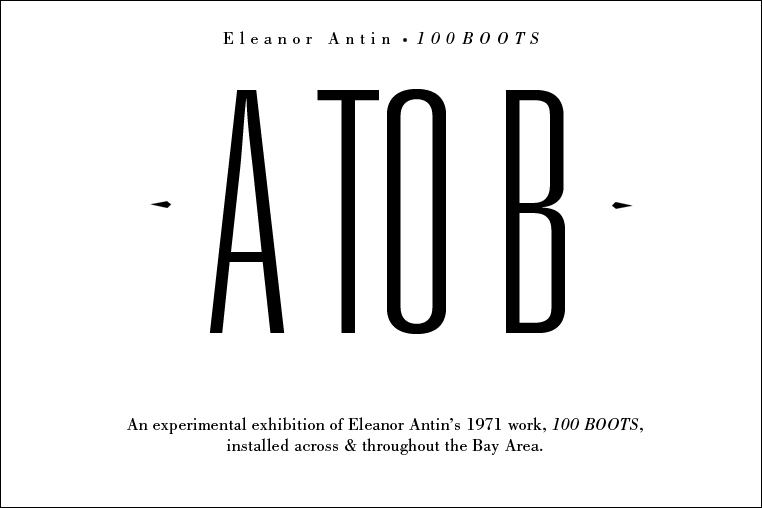 eleanor antin 100 boots