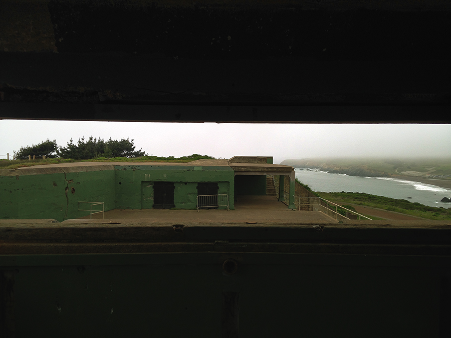 WWII bunker, headlands
