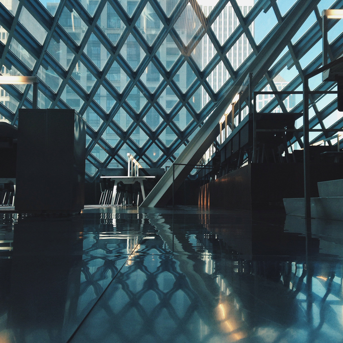 seattle library architecture reflection