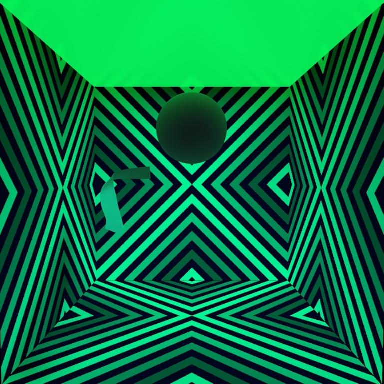 gergwerk decibel cube texture mockup