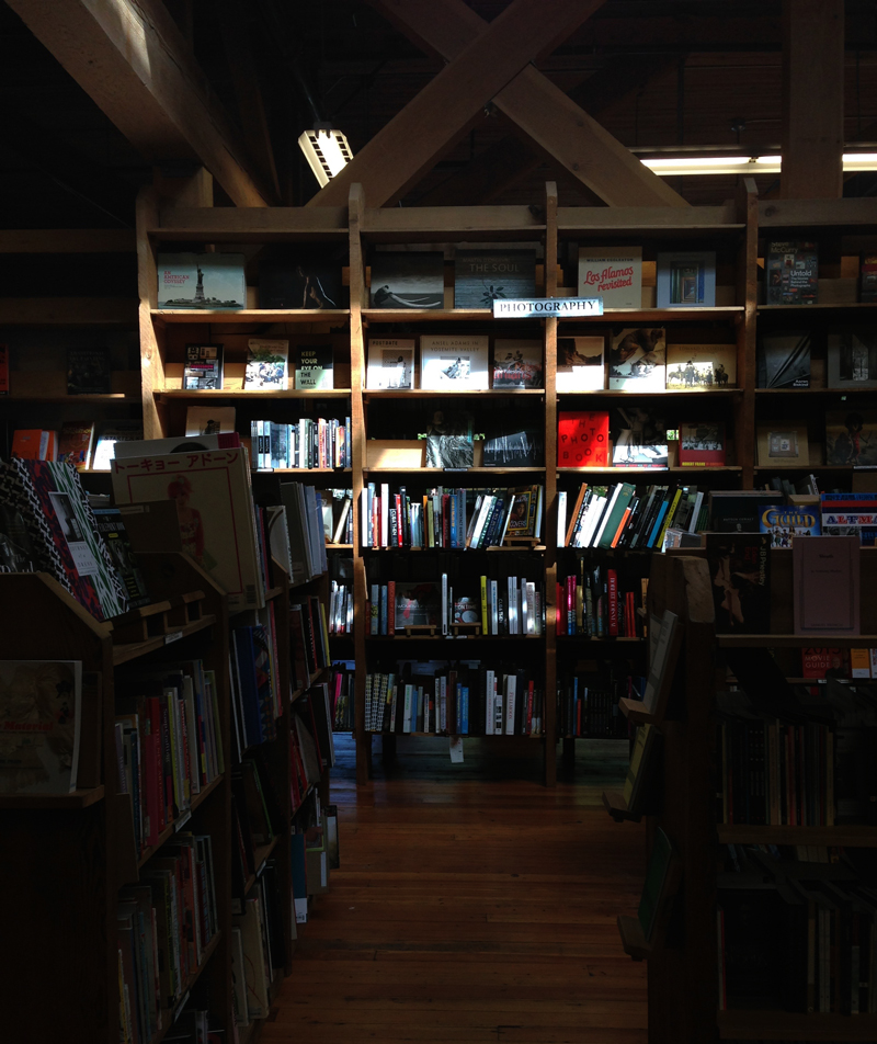 book store shadows