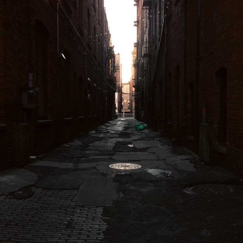 Pioneer Square alleyway