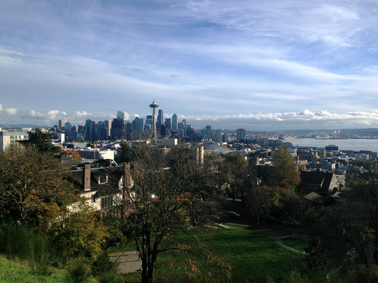 Seattle Skyline from Queen Anne