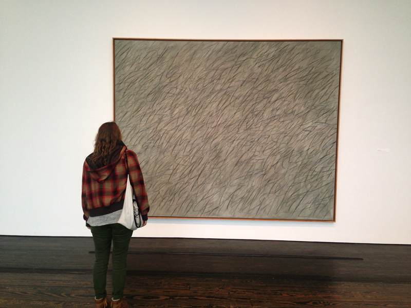 Cy Twombly art at Menil Collection Houston
