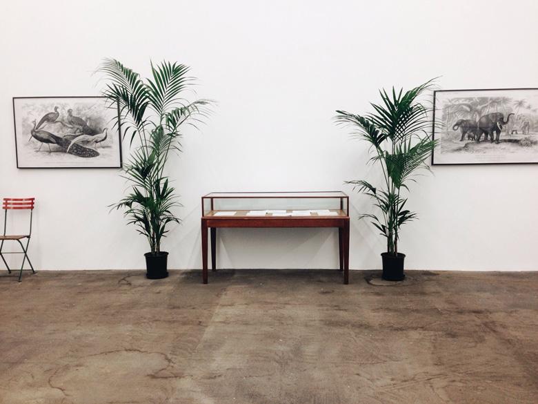 Marcel Broodthaers: Un Jardin d'Hiver, 1974