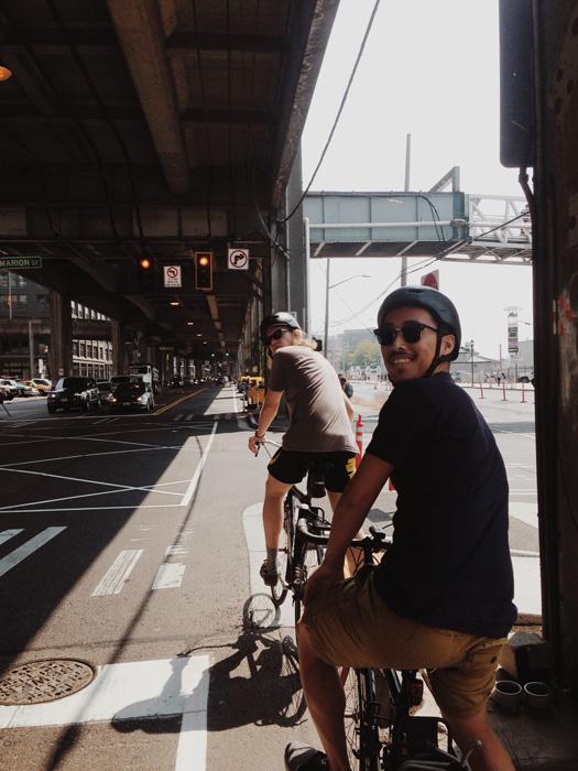 afternoon bike ride