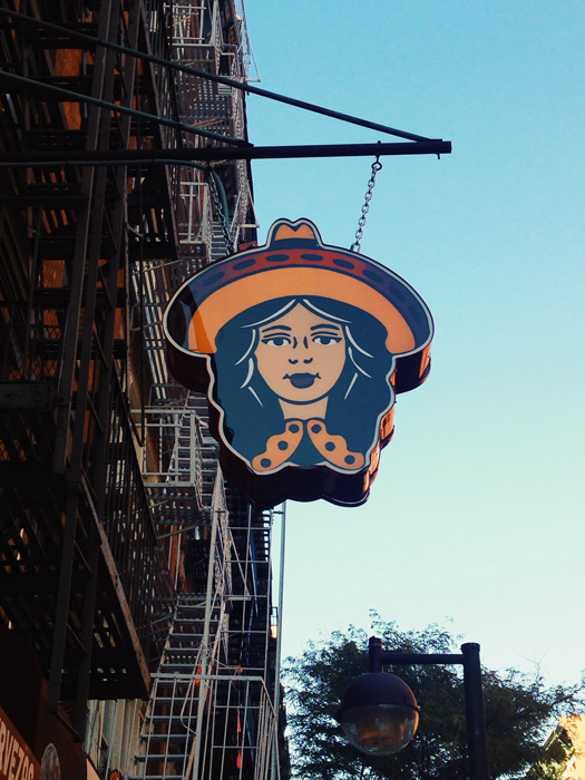 lower east side sign
